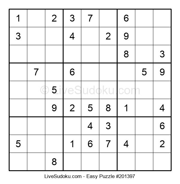Beginners Puzzle #201397