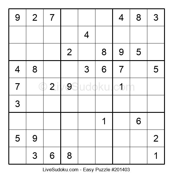 Beginners Puzzle #201403