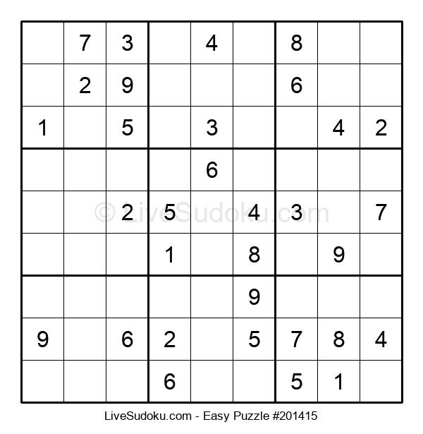 Beginners Puzzle #201415