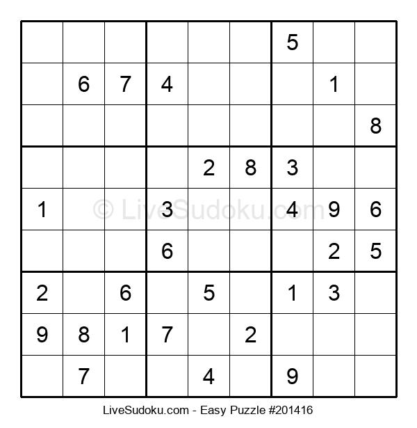 Beginners Puzzle #201416