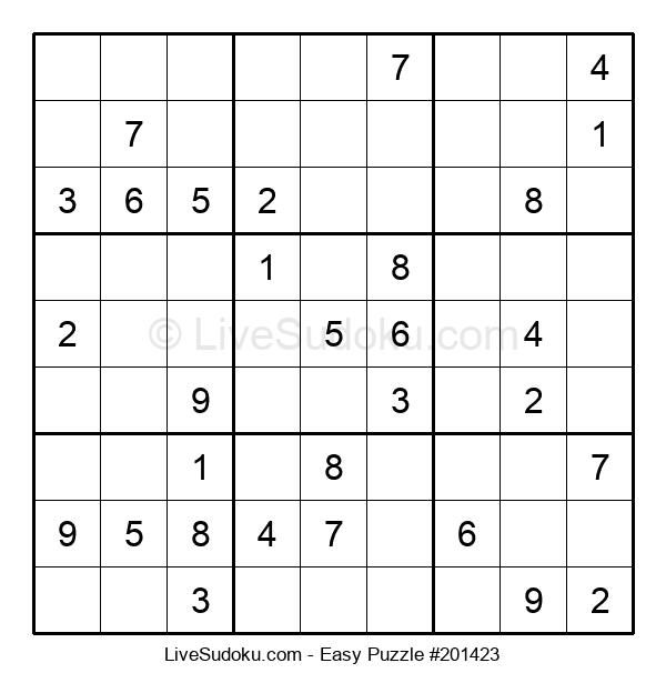Beginners Puzzle #201423