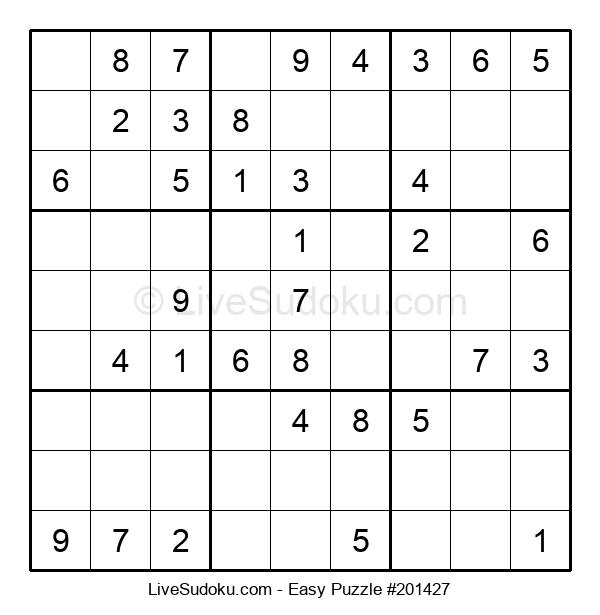 Beginners Puzzle #201427