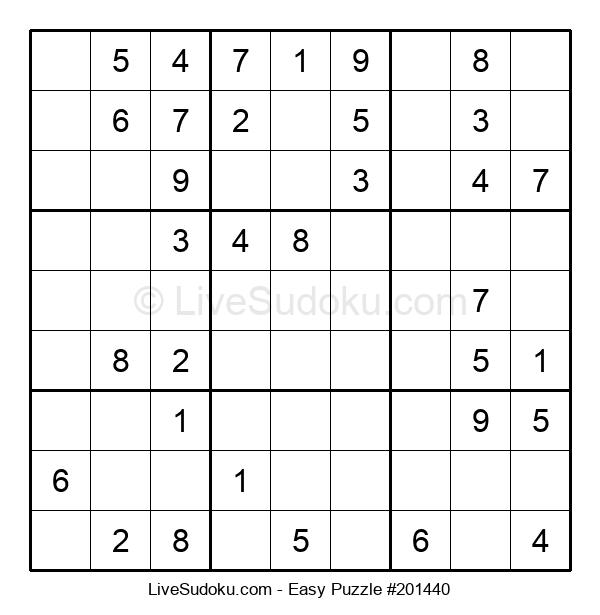 Beginners Puzzle #201440