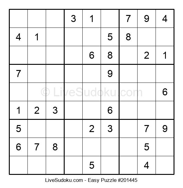 Beginners Puzzle #201445