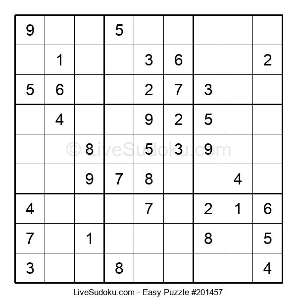 Beginners Puzzle #201457
