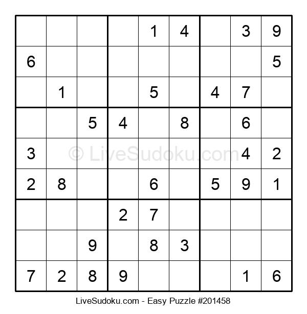 Beginners Puzzle #201458