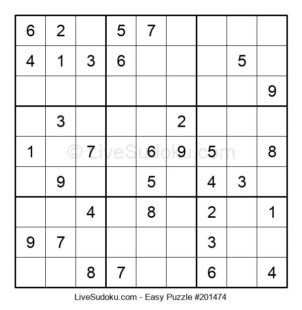 Beginners Puzzle #201474