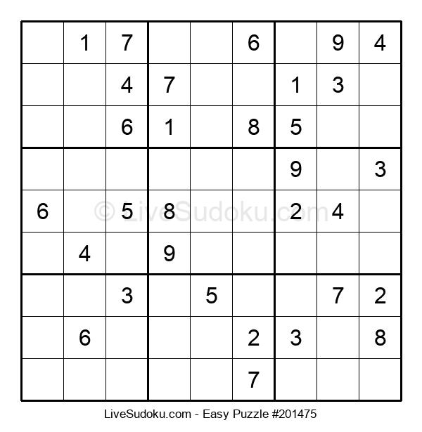 Beginners Puzzle #201475
