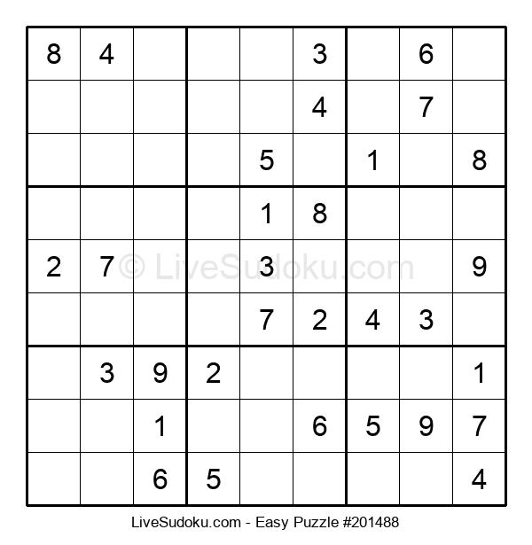 Beginners Puzzle #201488