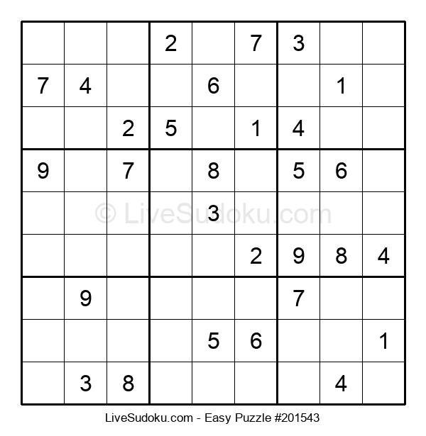 Beginners Puzzle #201543