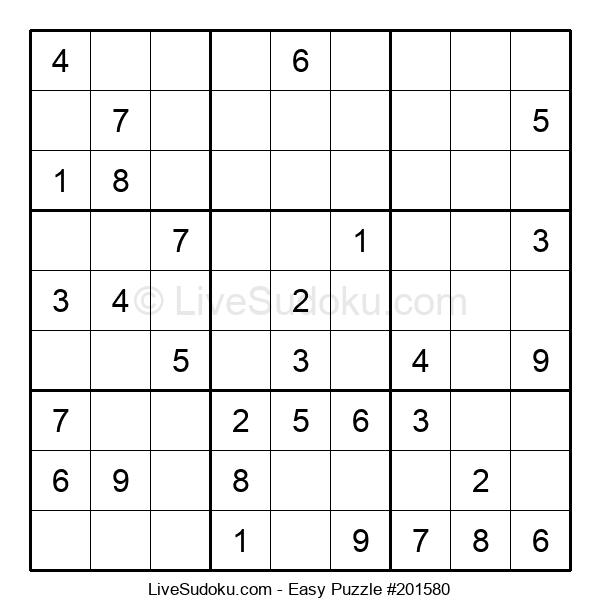 Beginners Puzzle #201580
