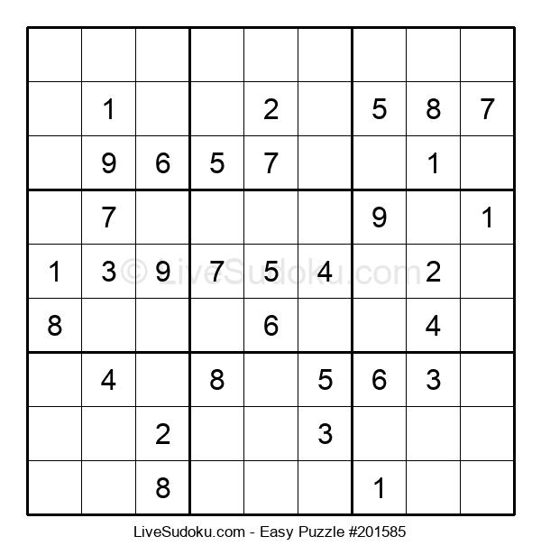 Beginners Puzzle #201585