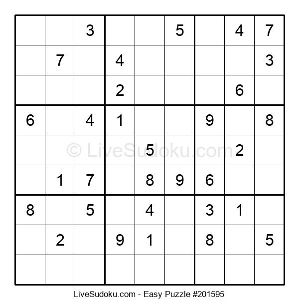 Beginners Puzzle #201595