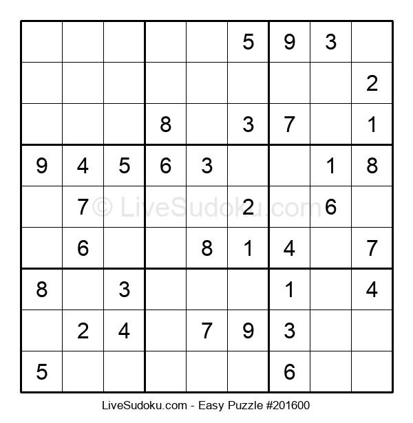 Beginners Puzzle #201600