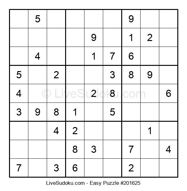 Beginners Puzzle #201625