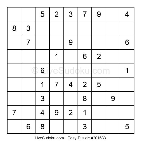 Beginners Puzzle #201633