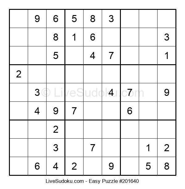 Beginners Puzzle #201640