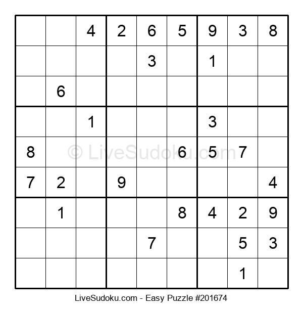 Beginners Puzzle #201674