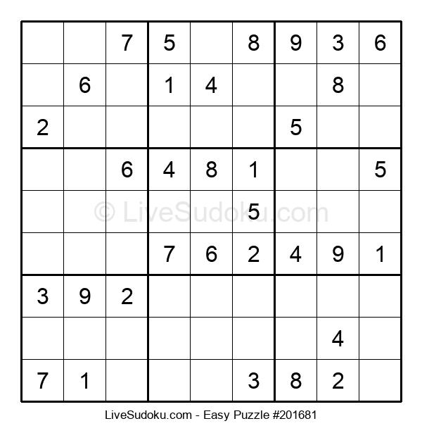 Beginners Puzzle #201681