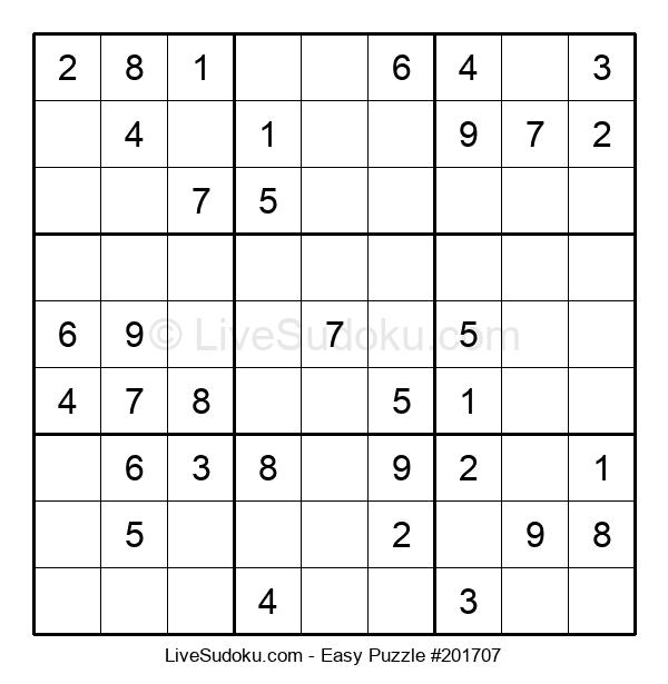 Beginners Puzzle #201707