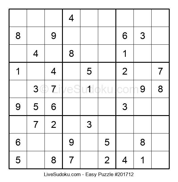 Beginners Puzzle #201712