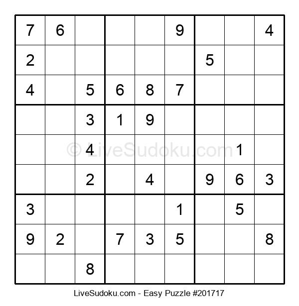 Beginners Puzzle #201717