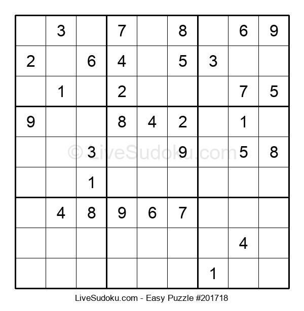 Beginners Puzzle #201718