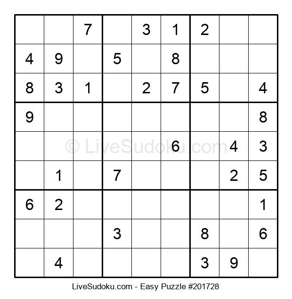 Beginners Puzzle #201728