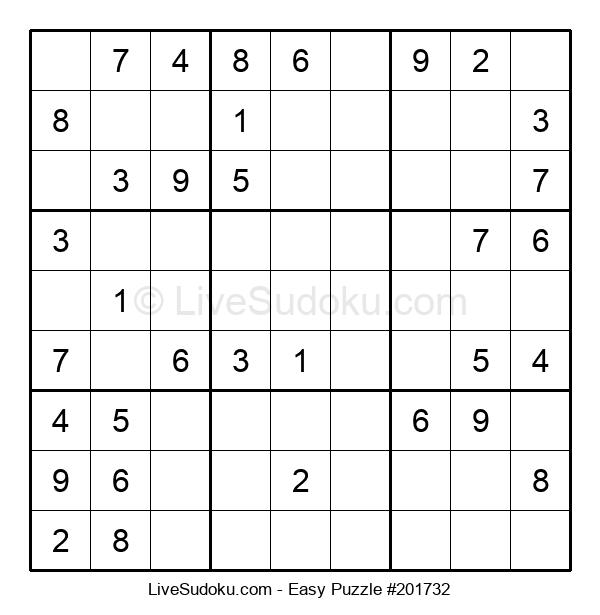 Beginners Puzzle #201732