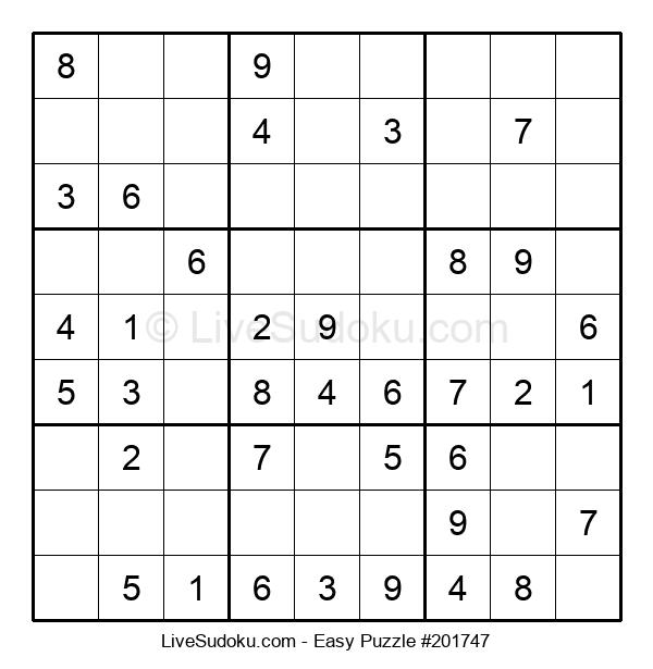 Beginners Puzzle #201747