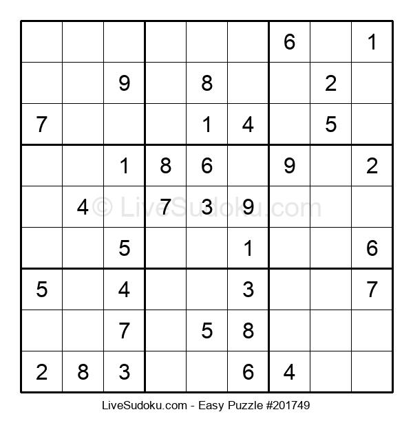 Beginners Puzzle #201749