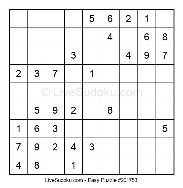 Beginners Puzzle #201753