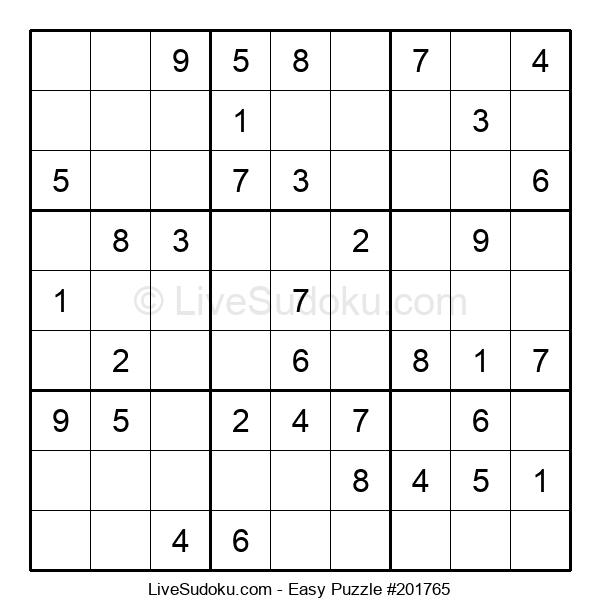 Beginners Puzzle #201765