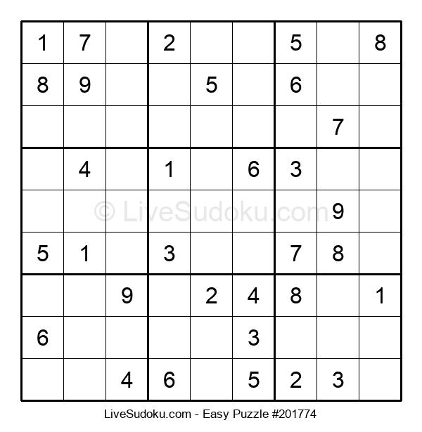 Beginners Puzzle #201774