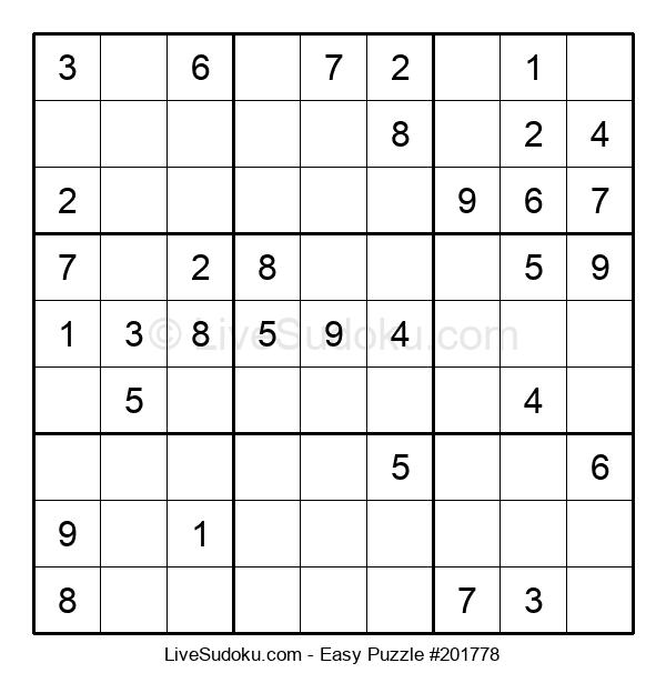 Beginners Puzzle #201778