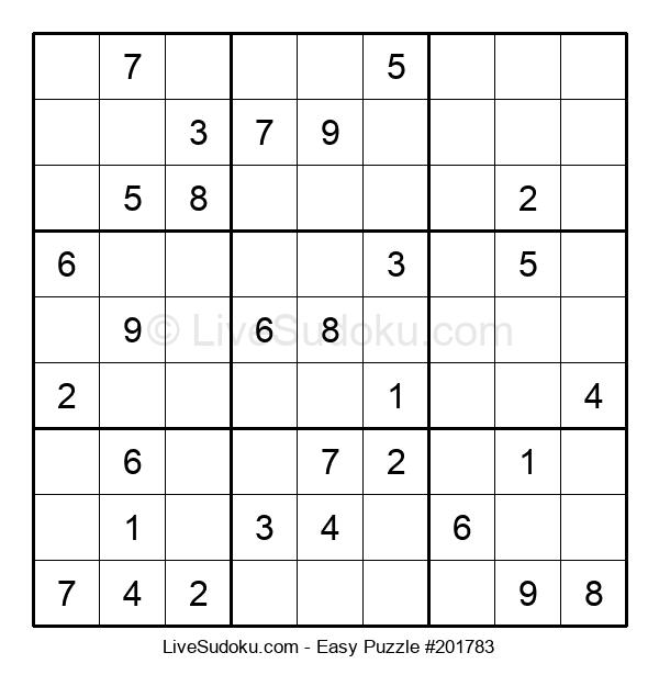 Beginners Puzzle #201783