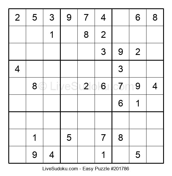 Beginners Puzzle #201786