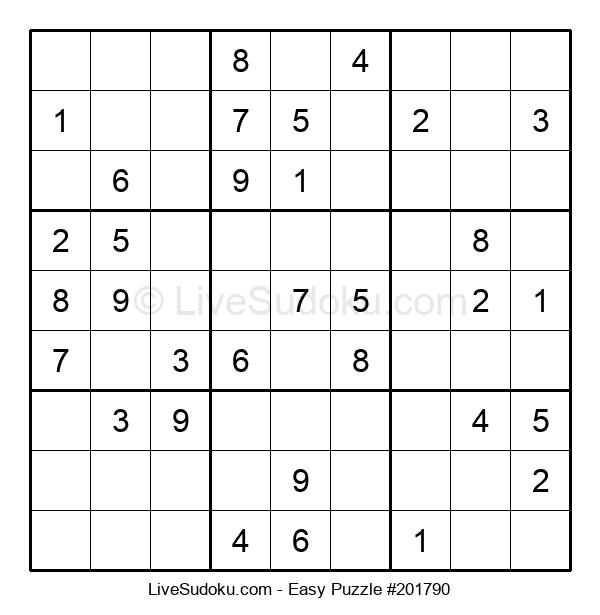Beginners Puzzle #201790