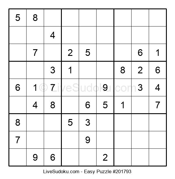Beginners Puzzle #201793