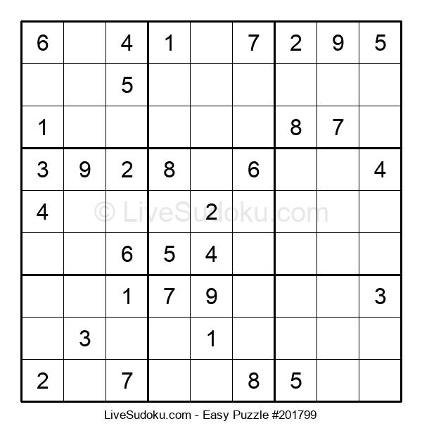 Beginners Puzzle #201799