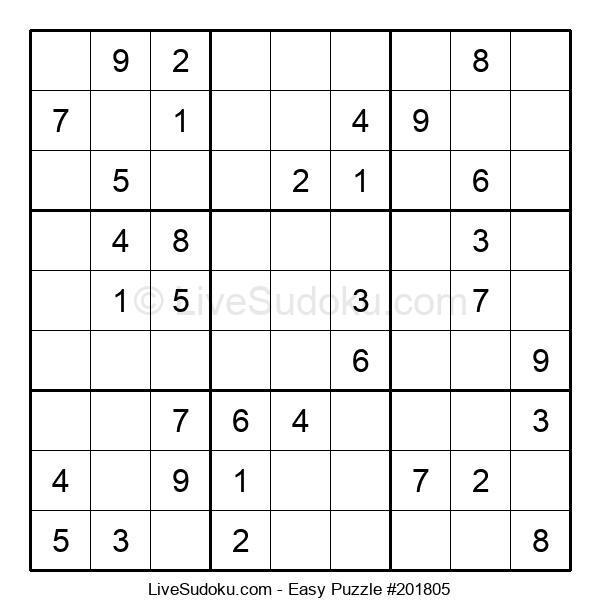 Beginners Puzzle #201805