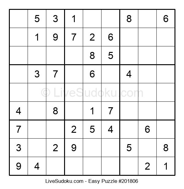 Beginners Puzzle #201806