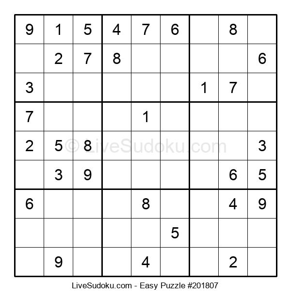 Beginners Puzzle #201807