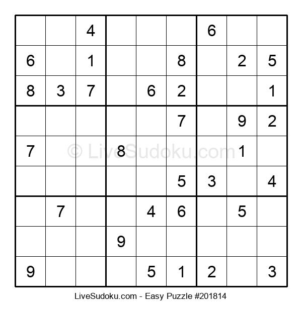 Beginners Puzzle #201814
