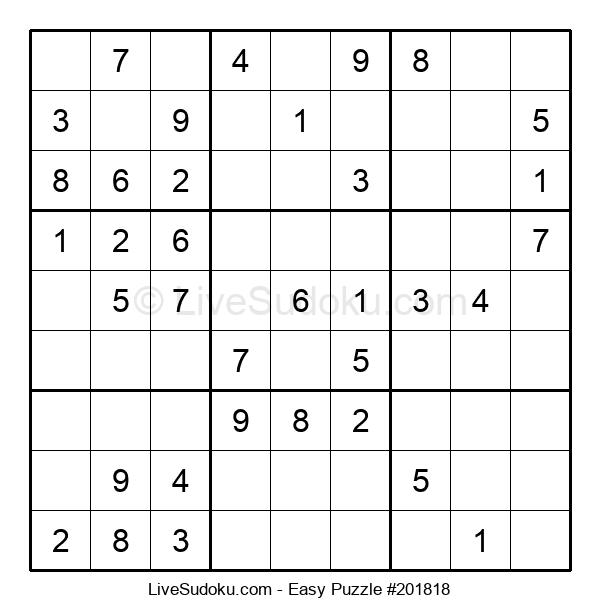 Beginners Puzzle #201818