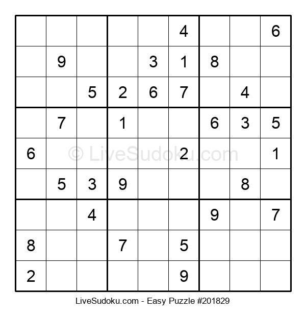 Beginners Puzzle #201829