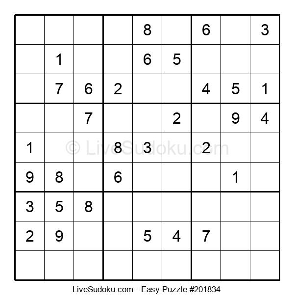 Beginners Puzzle #201834