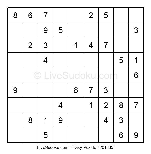 Beginners Puzzle #201835