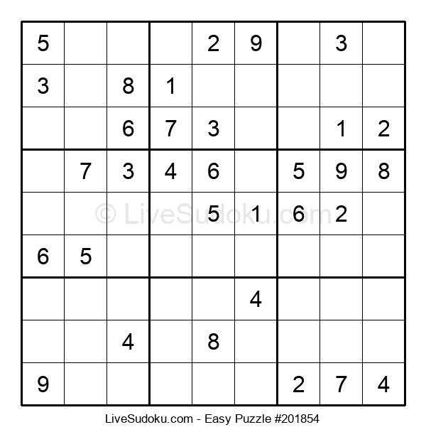 Beginners Puzzle #201854