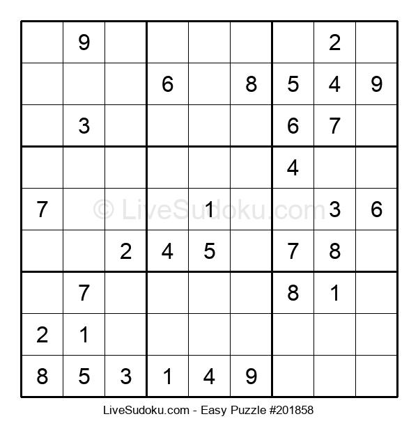Beginners Puzzle #201858